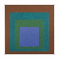 Josef Albers, Expanding (Homage to the Square)