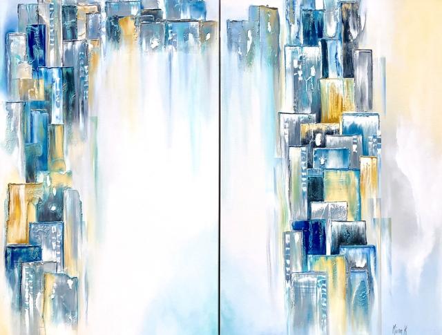 , 'Santorini Diptych,' , Avran Fine Art