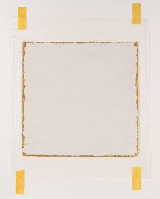 ", 'Untitled, Surface Veil 12"" x 16 1/4"",' 1970, Vivian Horan Fine Art"