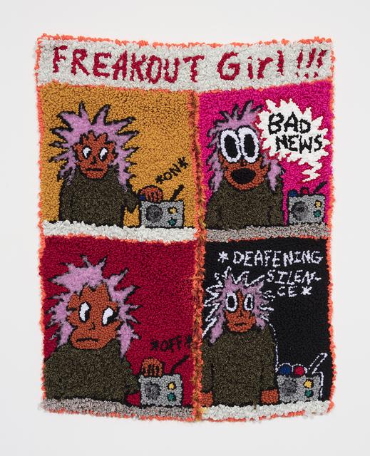 , 'Freakout Girl VS The News Cycle,' 2019, Steve Turner