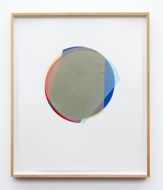 , '3/4 Kreisexzenter 5,' 2013, Galerie Gisela Clement