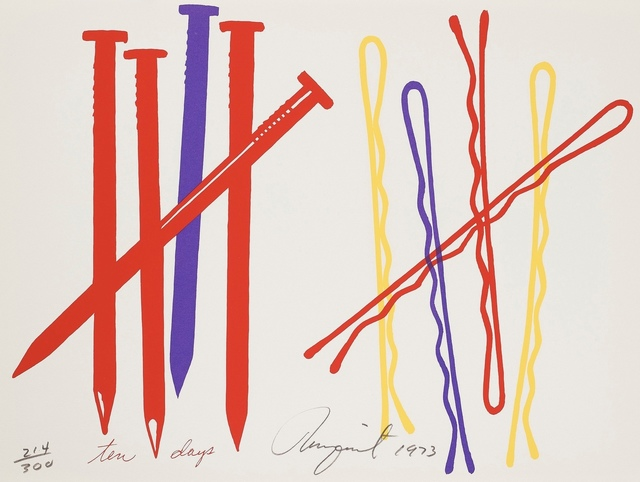 James Rosenquist, 'Ten Days', 1973, Forum Auctions