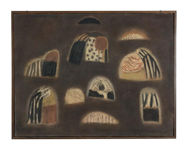 , 'Les Paysannes de jeudi,' 1953, Lorenzelli arte