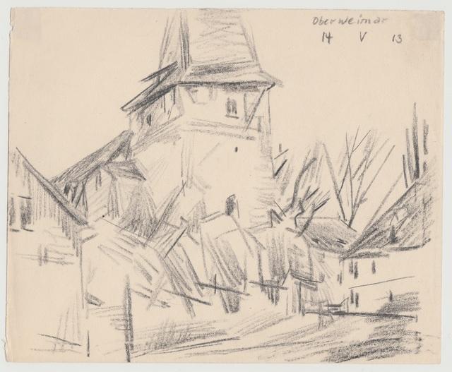 , 'Oberweimar,' 1913, Henze & Ketterer
