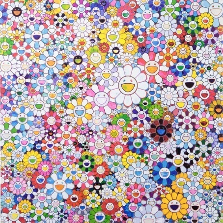 Takashi Murakami, 'When I Close my Eyes, I See Shangri-La', 2016, Vogtle Contemporary