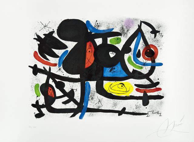 Joan Miró, 'La luge des amants II ', 1981, Galerie Lelong & Co.