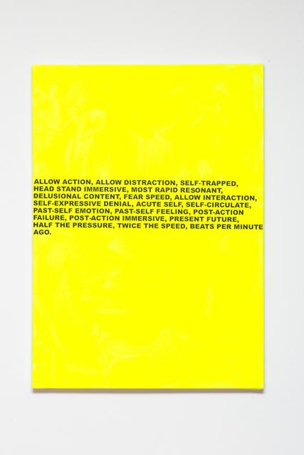 Stefan Brüggemann, 'Beats Per Minute Painting', 2017, Studio Voltaire