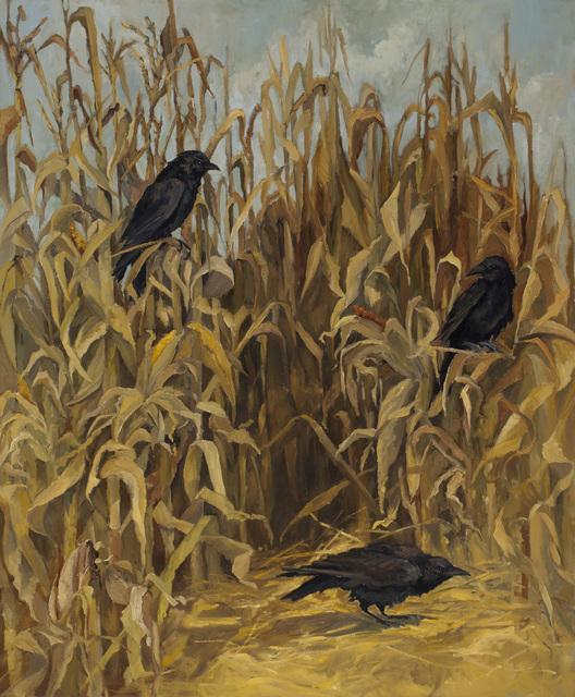 , 'Amagansett Ravens,' 2015, Grenning Gallery