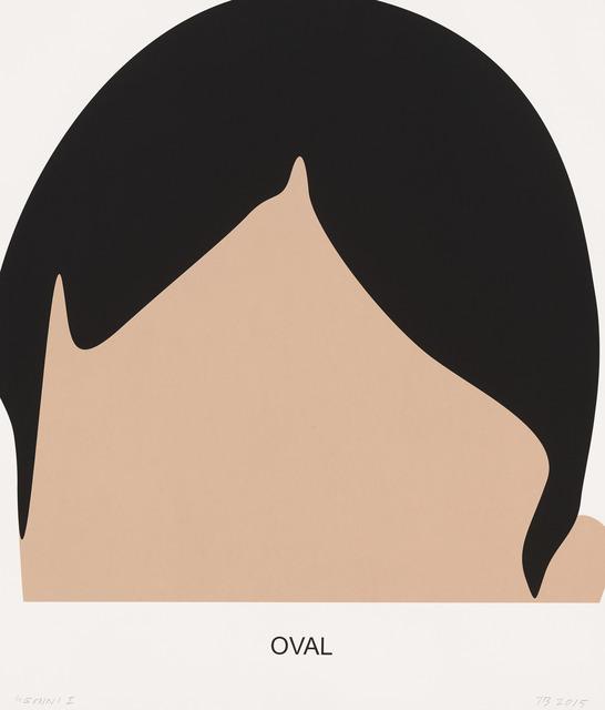, 'Oval,' 2016, Gemini G.E.L. at Joni Moisant Weyl