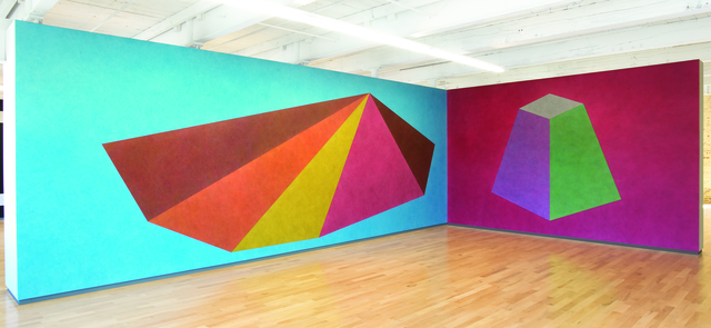 , 'Wall Drawings #439 and #527,' 1985, MASS MoCA