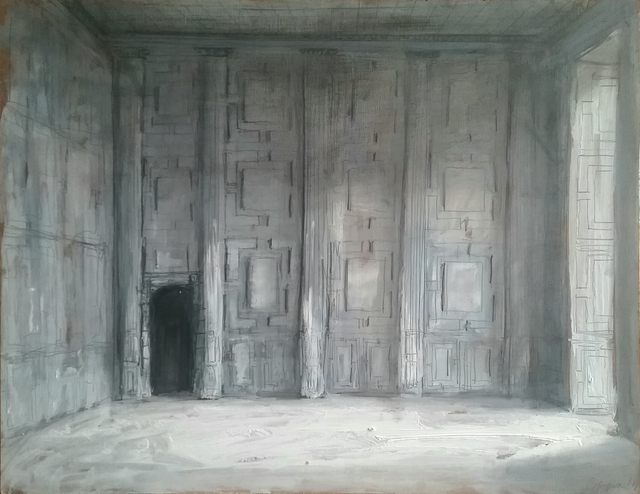 , 'Drawing Room at Broughton Castle ,' 2016, Purdy Hicks Gallery