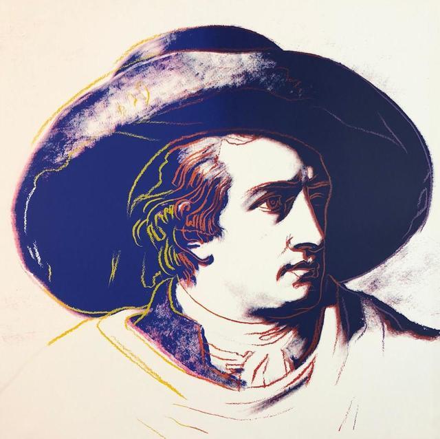 Andy Warhol, 'Goethe', 1982, Gallery HAAS & GSCHWANDTNER