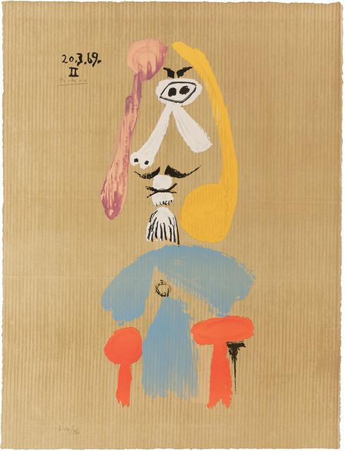 Pablo Picasso, 'Imaginary Portrait', 1969, Doyle