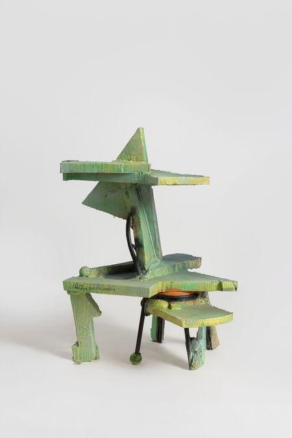 Zhou Yilun 周轶伦, 'Shelf Sculpture Based on a Chair', 2019, Beijing Commune