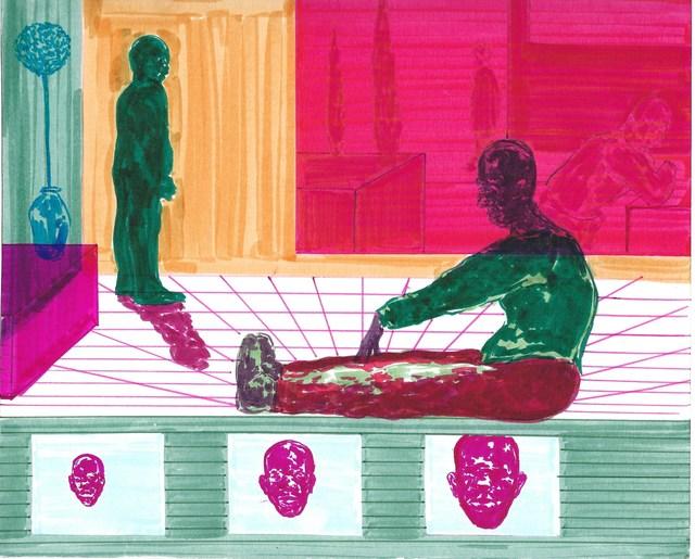 , 'Study for Transmutation,' 2018, Zevitas Marcus