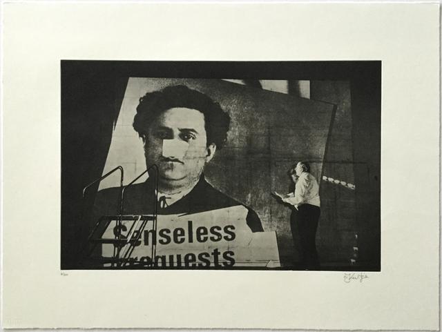 William Kentridge, 'Senseless (from Nose Portfolio)', 2010, Jim Kempner Fine Art