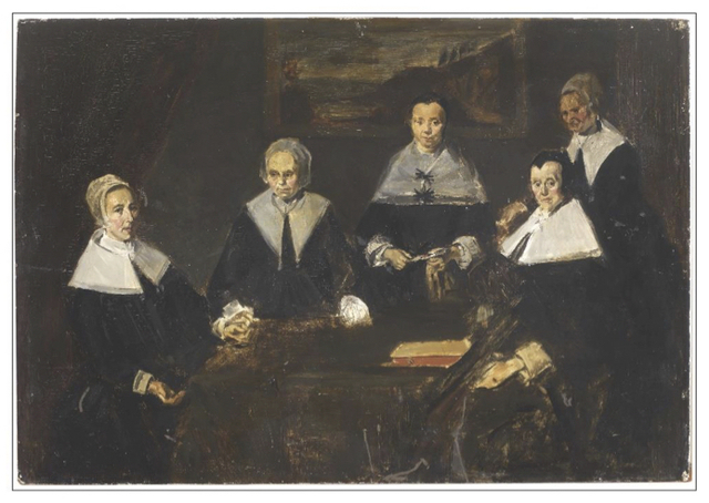 , 'Les regentes de l'hospice des veiellards (d'apres le tableau de Franz Hals au musee de Harlem),' ca. 1860, Gallery On The Move