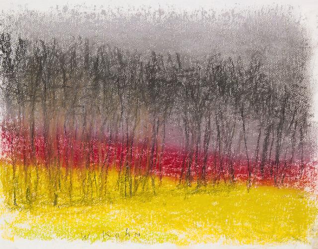 , 'DARK RED HORIZON II,' 2016, Jerald Melberg Gallery