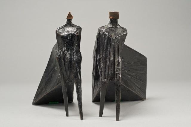 , 'Pair of Cloaked Figures III,' 1977, Galeria Freites