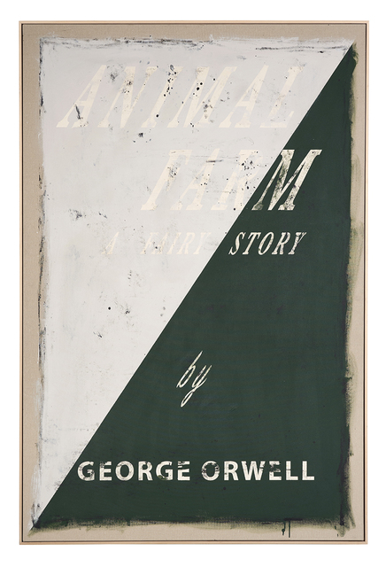 , 'Cover #31 (Animal Farm, George Orwell),' 2018, Christopher Grimes Projects