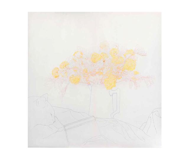 , 'B en jaune,' 2012, Herlitzka + Faria