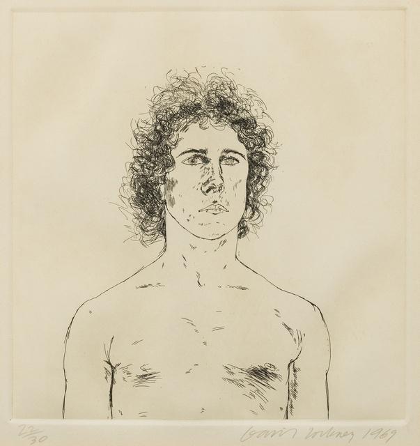 David Hockney, 'Wayne Sleep (Scottish Arts Council 112)', 1969, Forum Auctions