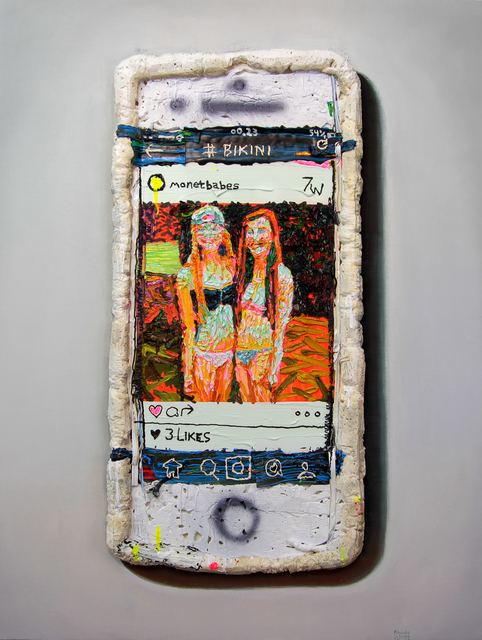 , 'Foam Phone,' 2016, Galerie C.O.A
