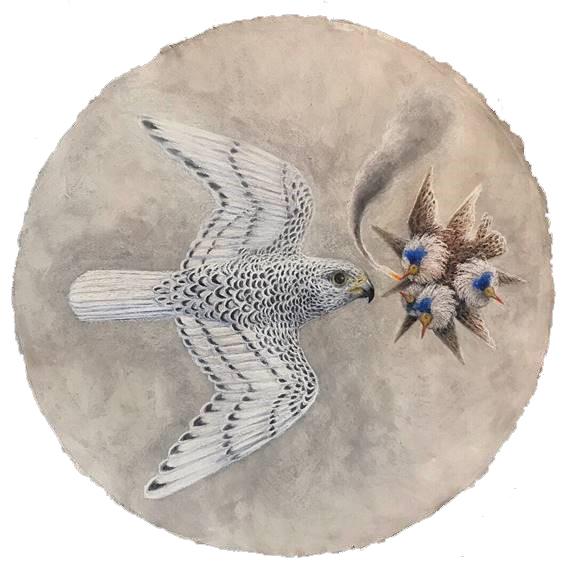 Kahn & Selesnick, 'Falcon Augury', 2019, Carrie Haddad Gallery