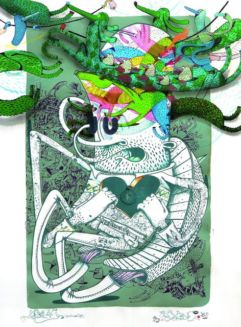 , 'Quadricolor,' 2014, KOLLY GALLERY