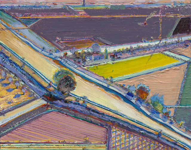 Wayne Thiebaud, 'Bright River Study', 1994-2012, Acquavella Galleries