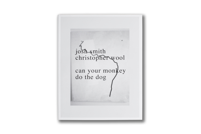 Christopher Wool & Josh Smith, 'Can your monkey do the dog', 2007, mfc - michèle didier