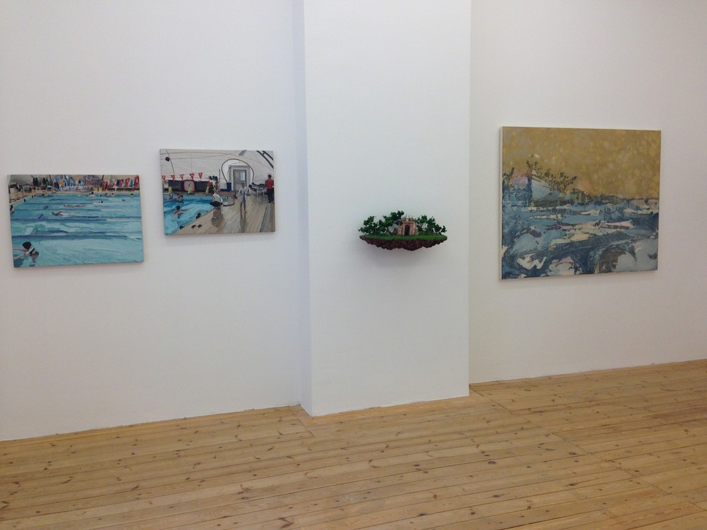 Installation view, Luca Padroni, Jorge Mayet and Federico Guerri