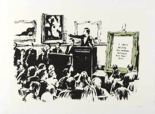 Banksy, 'Morons (LA Edition)', 2006, Forum Auctions