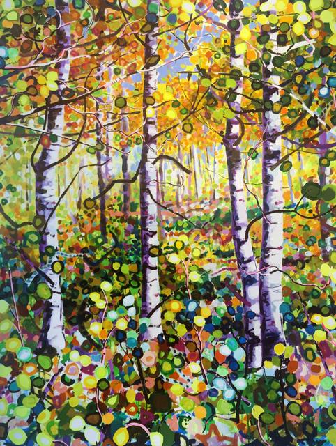 , 'Autumn Aspens,' 2008, Modern West Fine Art