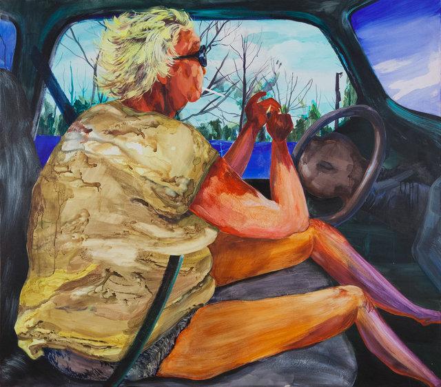 , 'The Long Haul,' 2017, Charles Moffett