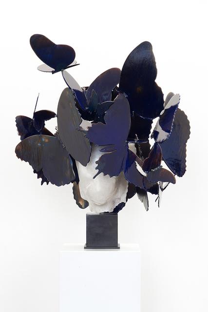 , 'Azul Blanco III,' 2017, Beck & Eggeling