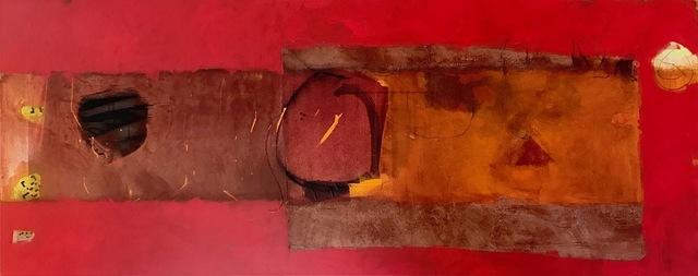 , 'Horizontal Reds,' 2019, ÆRENA Galleries and Gardens