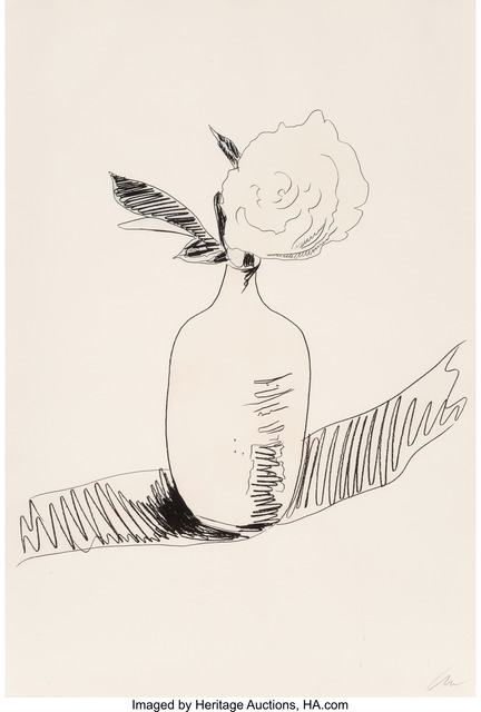 Andy Warhol, 'Untitled, from Flowers', 1974, Heritage Auctions