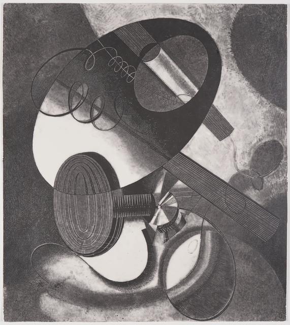 , 'Heliographic Composition (XXIX),' ca. 1936, Olszewski Gallery