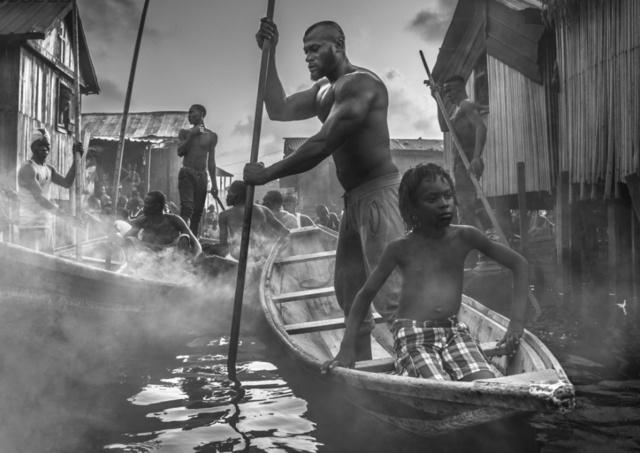 David Yarrow, 'A Ship Called Dignity', 2017, Isabella Garrucho Fine Art