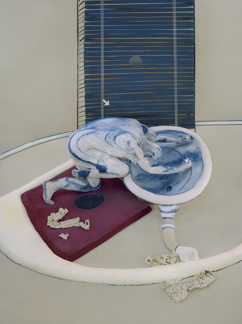 , 'After Figure at a Washbasin, 1976,' 2013, Gordon Gallery