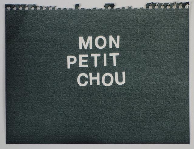 , 'Mon Petit Chou (black),' , Rodolphe Janssen