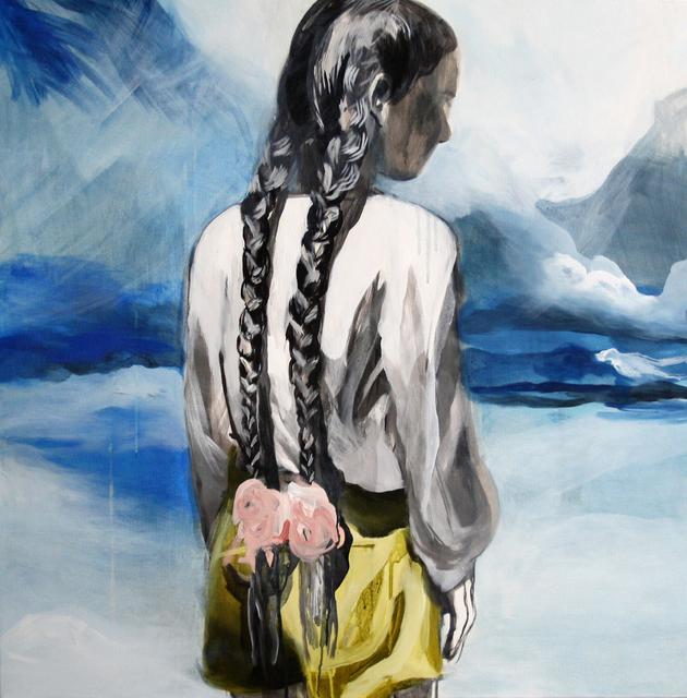 , 'Girl´s back,' 2014, Galerie Sandhofer