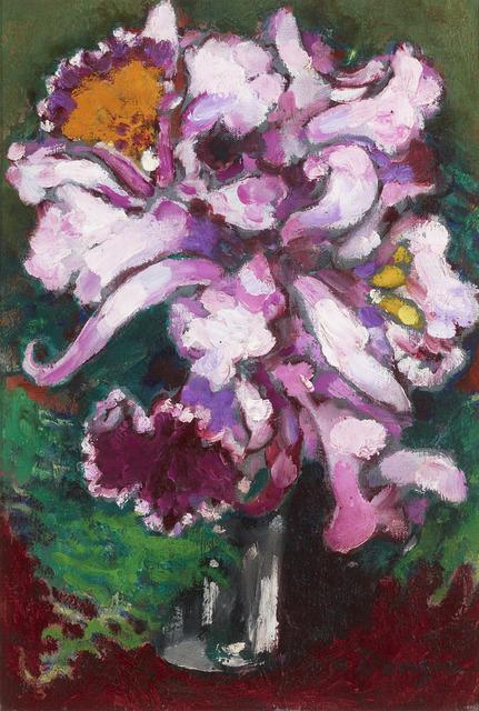 Kees van Dongen, 'Vase d'orchidées', ca. 1910,  M.S. Rau Antiques