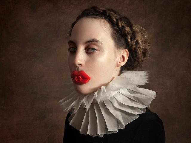 , 'Red Lips,' 2018, House of Fine Art - HOFA Gallery