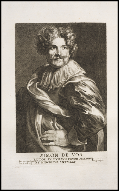 Anthony van Dyck, 'Simon de Vos, pictor in humanis figuris', 1759, Getty Research Institute