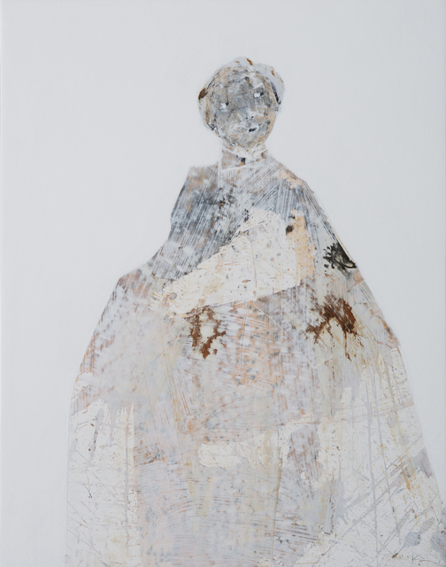 Marianne Kolb, 'The White Paintings No. 2', 2018, Painting, Mixed media on panel, Seager Gray Gallery
