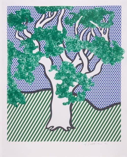 Roy Lichtenstein, 'Rain Forest (Corlett 278)', 1992, Forum Auctions