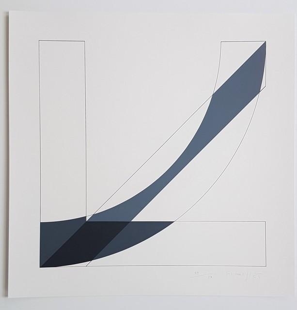 Gottfried Honegger, 'Concrete Geometric Abstract Composition ', 2015-2016, Cerbera Gallery