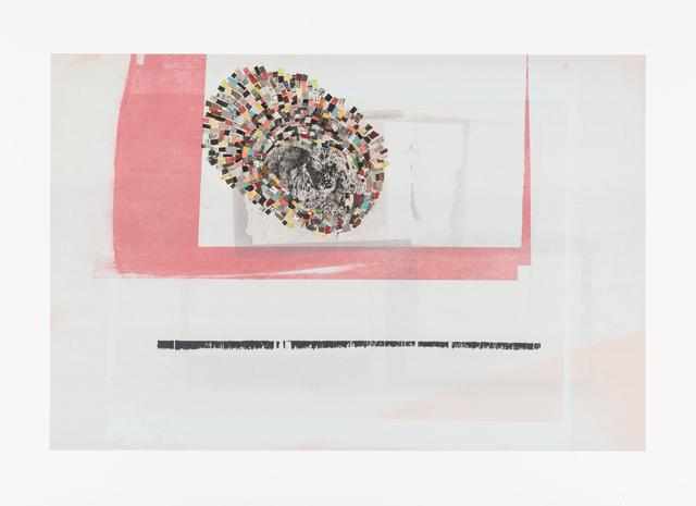 , 'NP-C007_newsprint9,' 2016, Bruno David Gallery & Bruno David Projects
